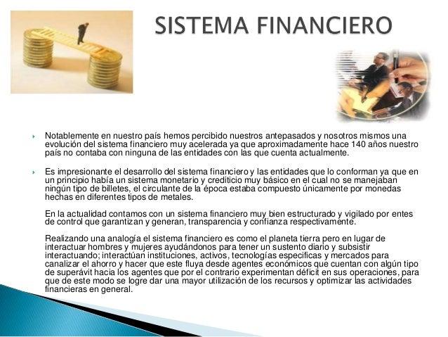 Estructura Del Sistema Financiero Actual