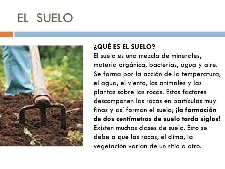 Estructura del suelo for El suelo y sus capas