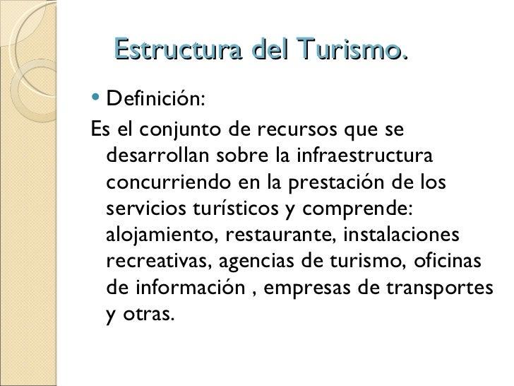 Estructura del turismo equipo1 for Actividades que se realizan en una oficina wikipedia