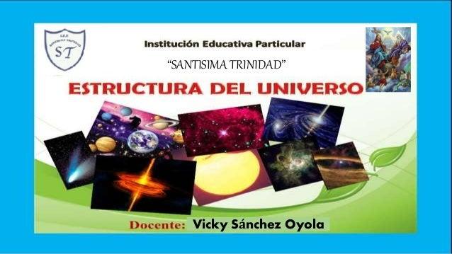 """SANTISIMA TRINIDAD"" Vicky Sánchez Oyola"