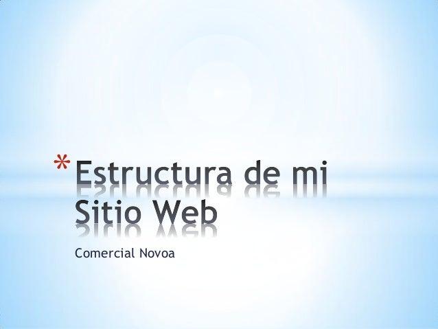 Comercial Novoa *