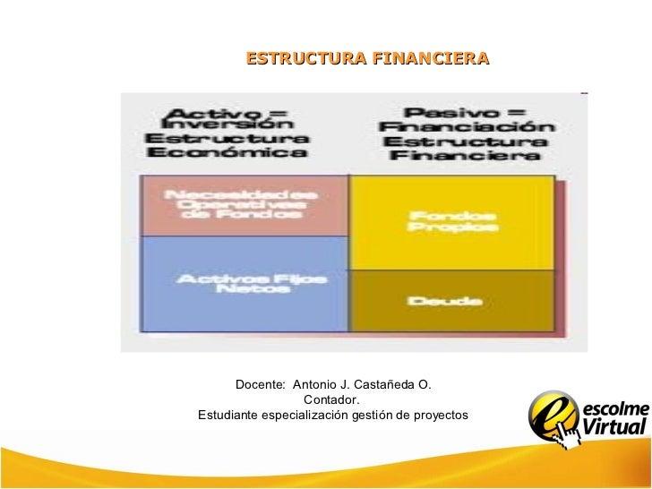 Estructura Estados Financieros