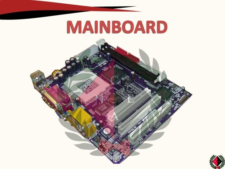 es una tarjeta de circuito impreso a la que se conectan los componentes queconstituyen la computadora u ordenador. Es una ...