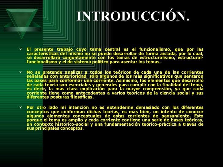 Estructural Funcionalismo   Teoria Critica Slide 3