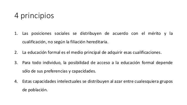 Estructural Funcionalismo Educación