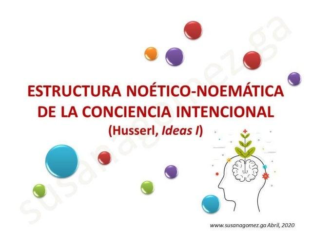 Estructura noético noemática