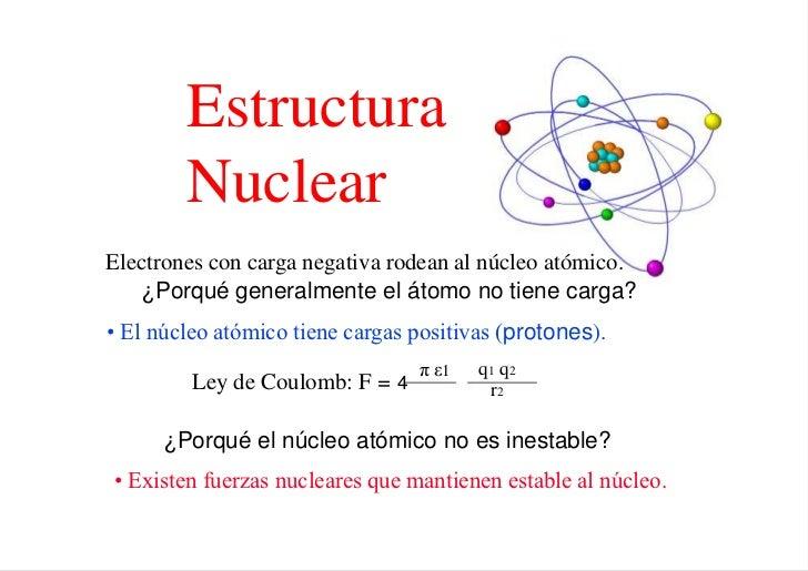 Estructura Nuclear
