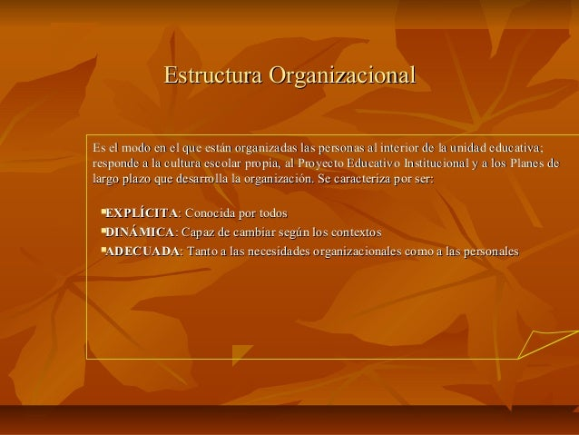 Estructura org Slide 2