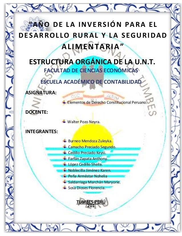 Primer ciclo 2013- I 1 Universidad Nacional de Tumbes FACULTAD DE CIENCIAS ECONÓMICAS ESCUELA ACADÉMICO DE CONTABILIDAD AS...
