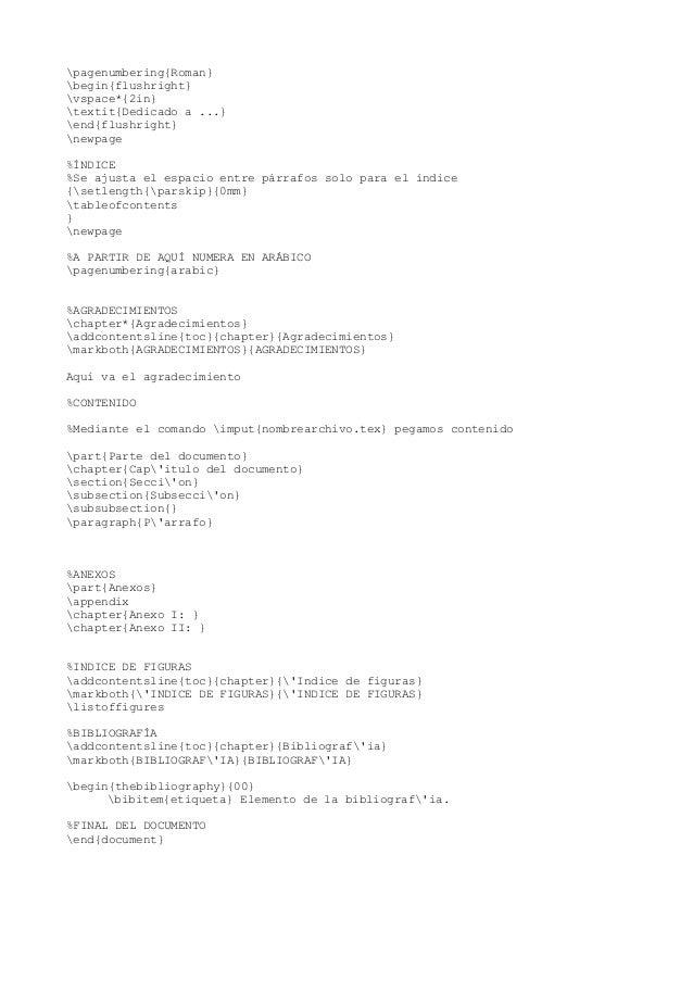 Plantilla PFC en LaTex para un PFC