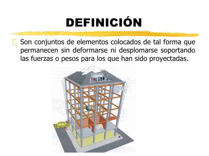 Estructuras for Definicion de estilo en arquitectura