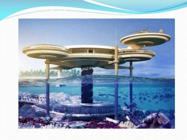 Estructuras bajo el agua for Hotel bajo el agua precio