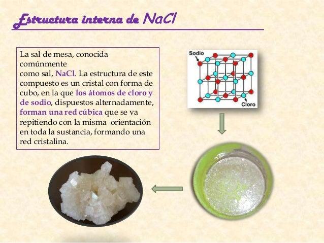 Estructuras Cristalinas 3º Eso Física Y Química