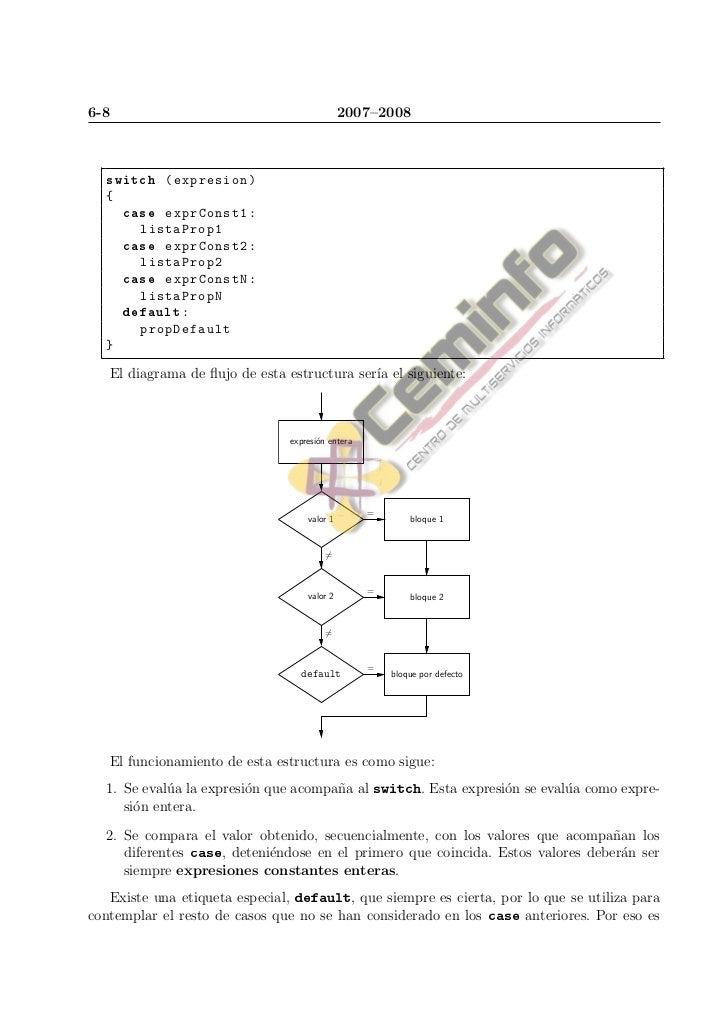 Estructuras de Control en Lenguaje C