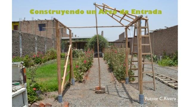 Algunas estructuras de jardin for Estructuras de jardin