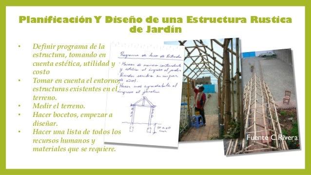 Algunas estructuras de jardin for Programa diseno de jardines