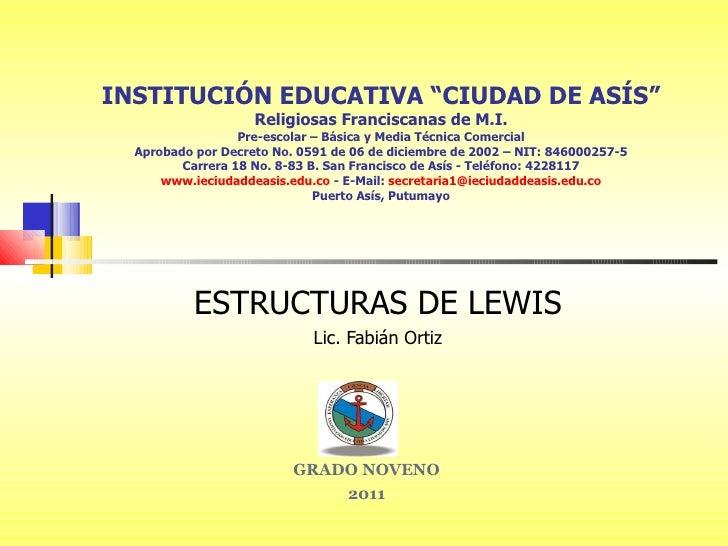 Estructuras De Lewis