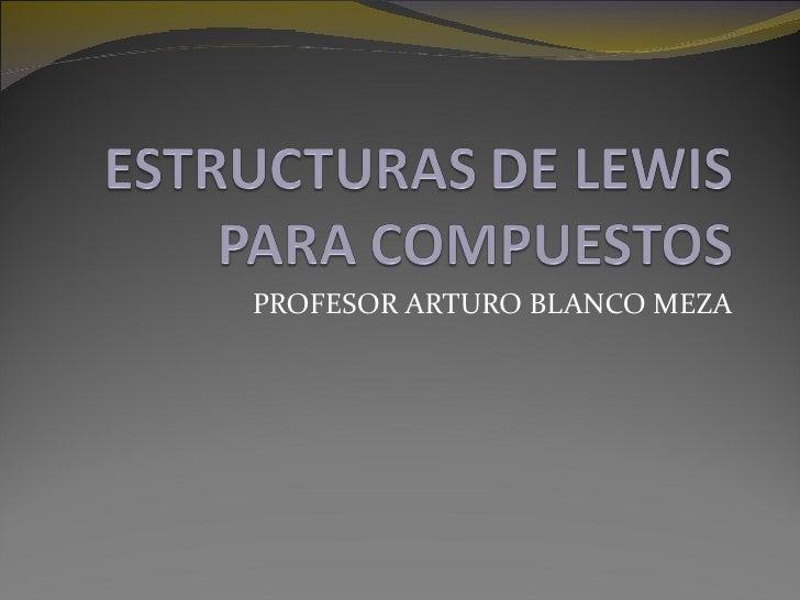PROFESOR ARTURO BLANCO MEZA