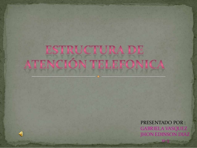 PRESENTADO POR :GABRIELA VASQUEZJHON EDINSON DIAZ11-3