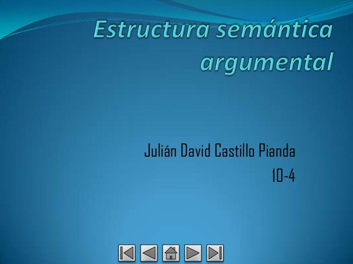 Julián David Castillo Pianda                         10-4
