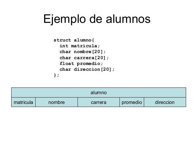 Estructuras En C