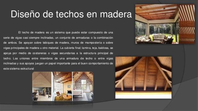 Estructuras en madera - Estructuras de madera para techos ...