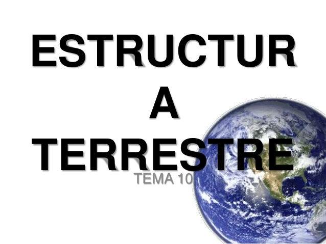 ESTRUCTURATERRESTRETEMA 10