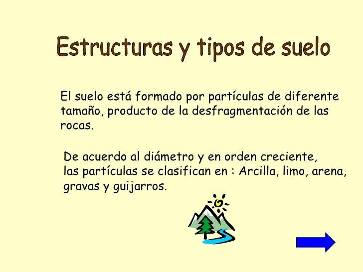 Estructura y tipos de suelo for Suelos y tipos de suelos