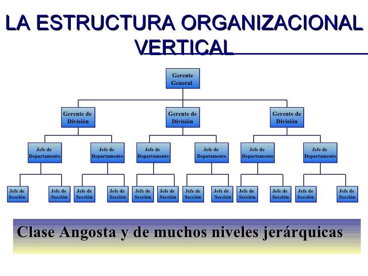 Estructur Organizacional