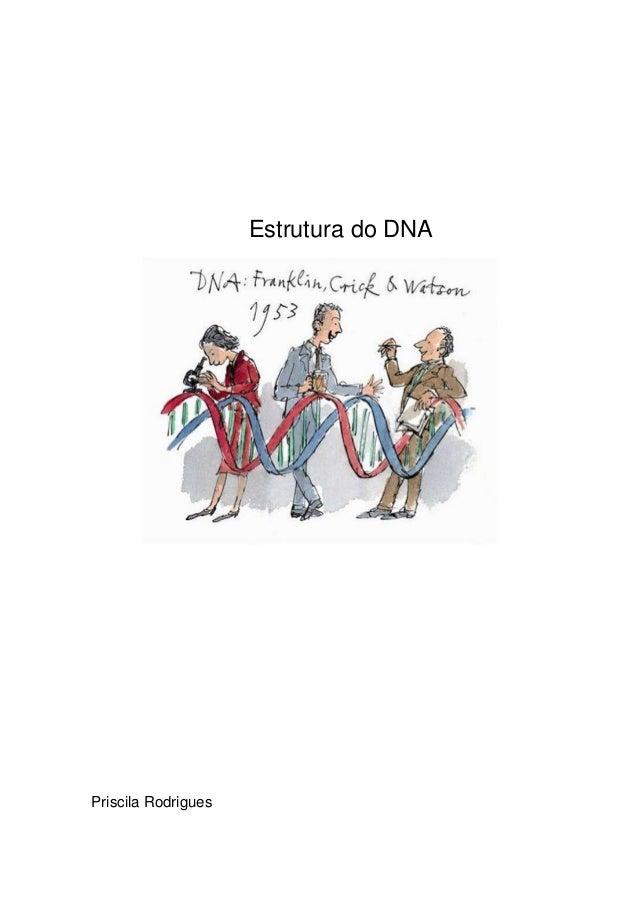 Estrutura do DNAPriscila Rodrigues