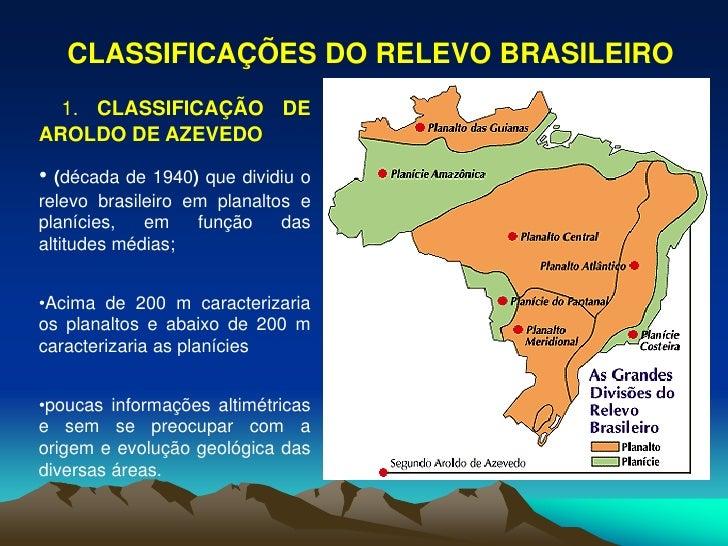 Estrutura Geologica E Relevo Do Brasil