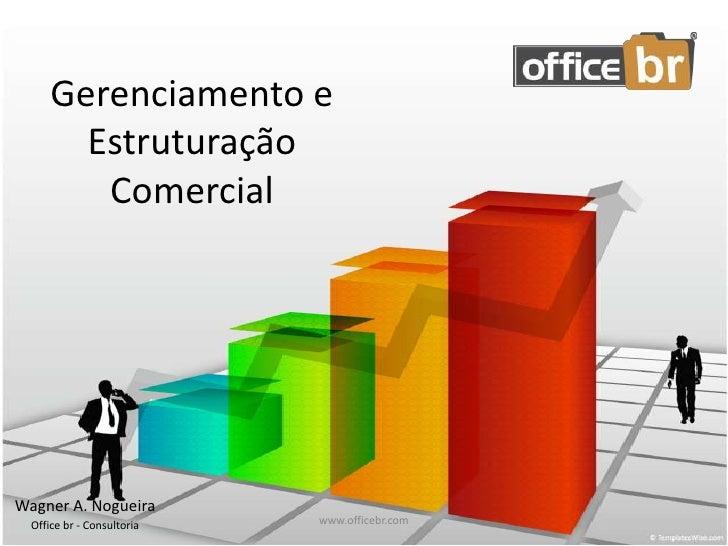 Gerenciamento e Estruturação Comercial<br />Wagner A. Nogueira<br />Office br - Consultoria<br />www.officebr.com<br />