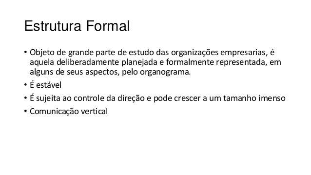 Estrutura Organizacional - Conceito e Tipos Slide 3