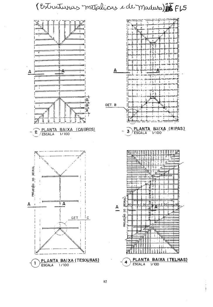 Estruturas de madeira cobertura