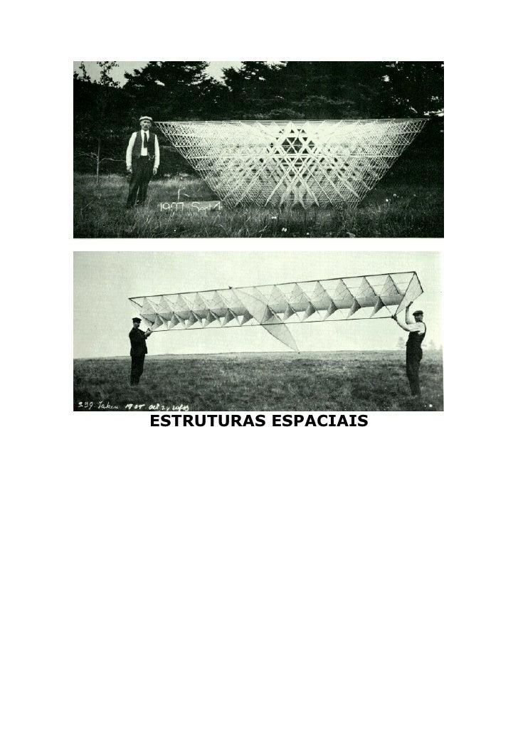 ESTRUTURAS ESPACIAIS