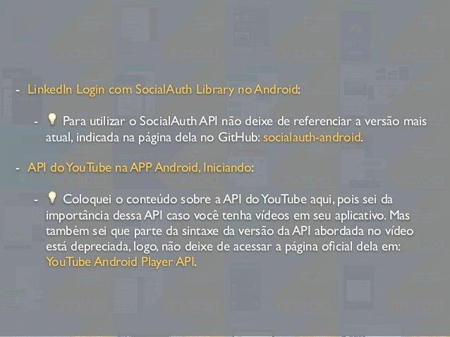 Estudando Android - Lista de Conteúdos do Blog