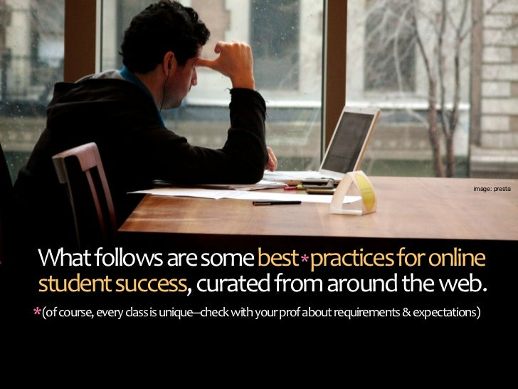 Quick Start Guide for Online Student Success Slide 3