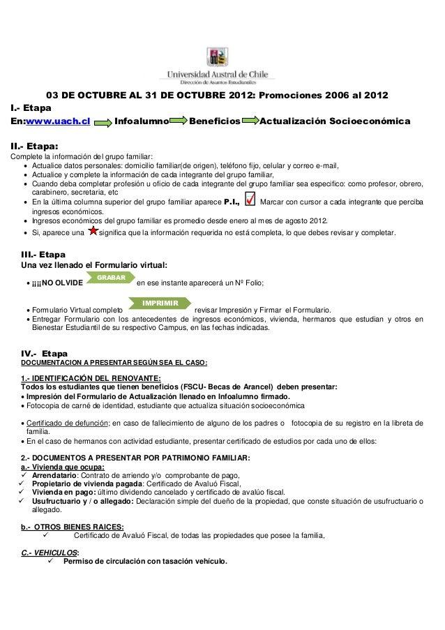 Volante actualizacion socioecon mica para periodo 2013 - Actualizacion pension alimentos ipc ...