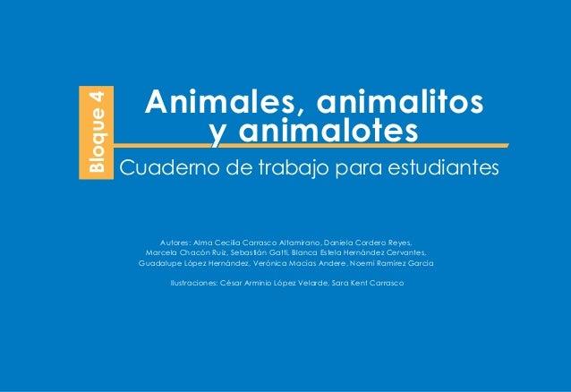animales animalitos y animalotes