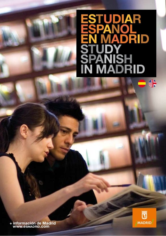 estudiar espa ol en madrid study spanish in madrid