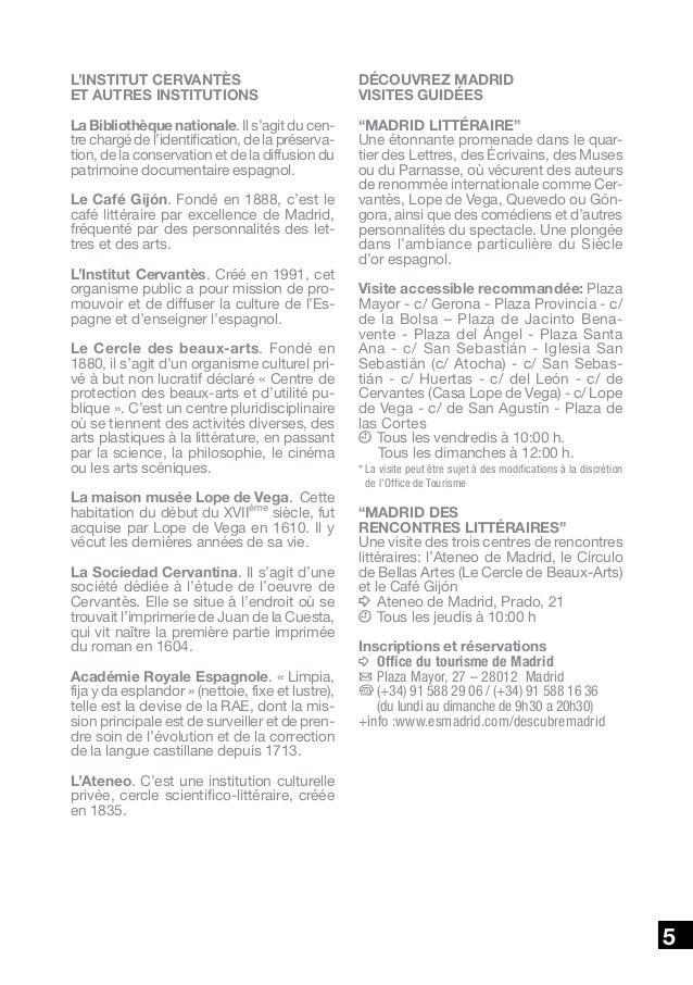 Estudiar espa ol madird franc s - Office de tourisme madrid ...