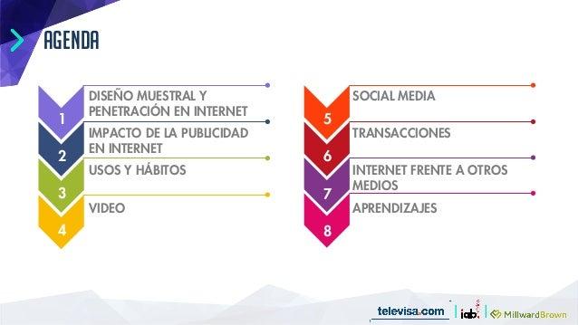 Estudio consumo medios internautas mexico Slide 3