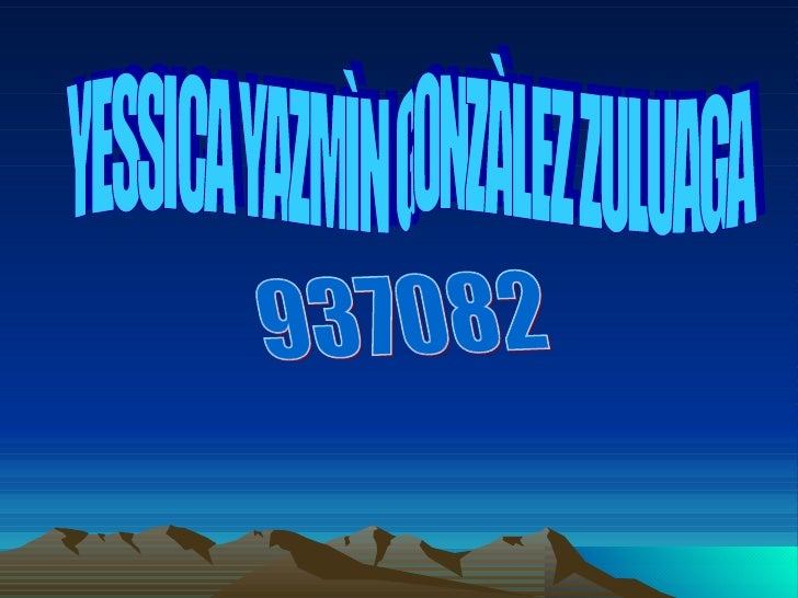 YESSICA YAZMÌN GONZÀLEZ ZULUAGA 937082