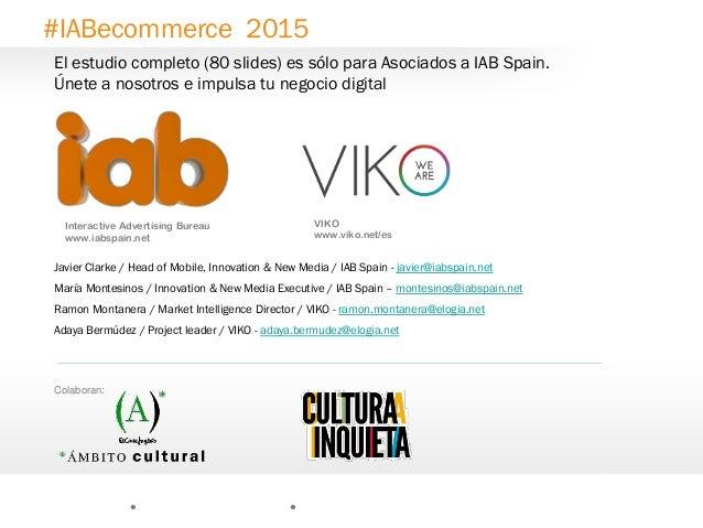 21 Interactive Advertising Bureau www.iabspain.net Javier Clarke / Head of Mobile, Innovation & New Media / IAB Spain - ja...