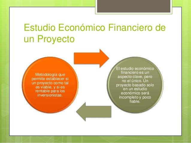Estudio económico y financiero de un proyecto Slide 3