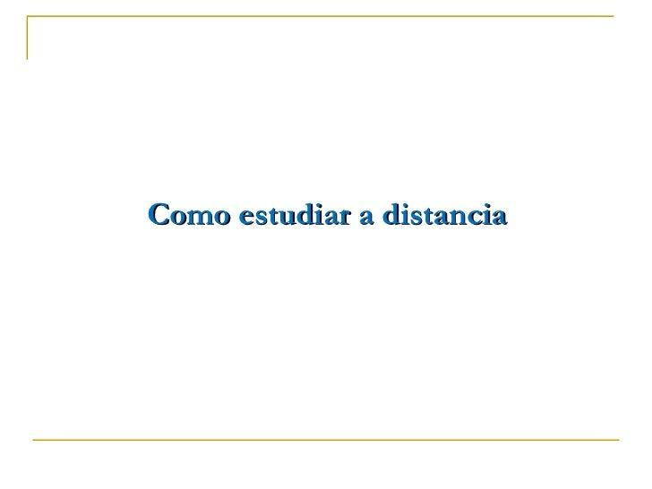 Recomendaciones para estudiar a distancia for Estudiar interiorismo a distancia