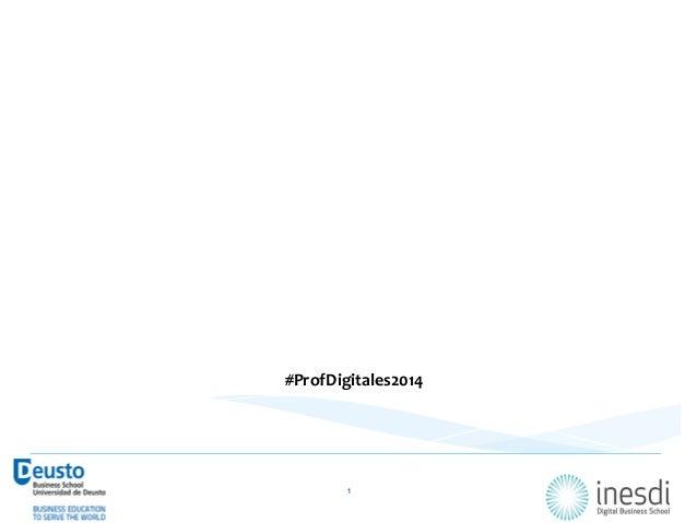 """Estudio  Inesdi   Profesiones  Digitales  2014      """"Las  25  profesiones  digitales  clave  en  l..."""