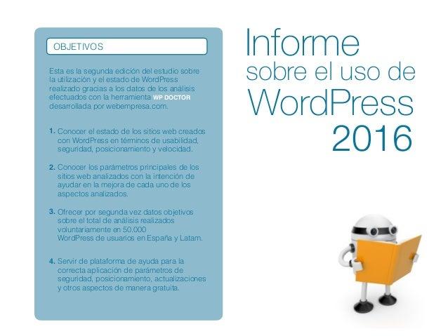 Estudio sobre-el-uso-de-wordpress-2016 Slide 2