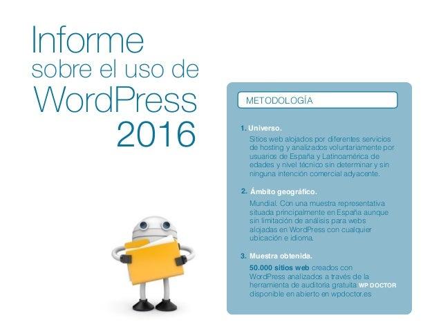 Estudio sobre-el-uso-de-wordpress-2016 Slide 3