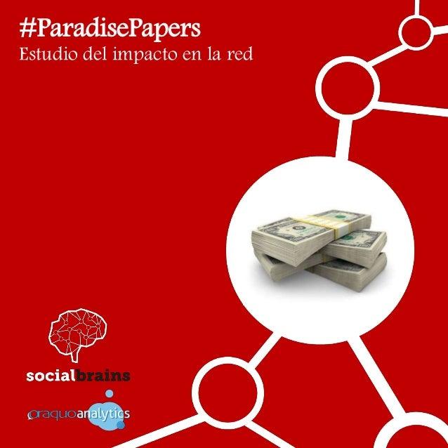 #ParadisePapers Estudio del impacto en la red